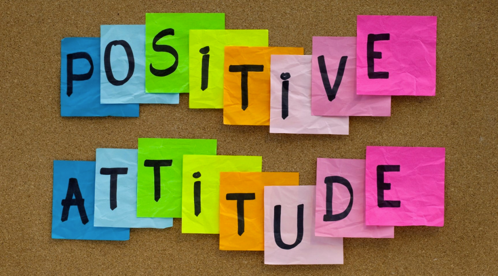 How you can stay positive in the office